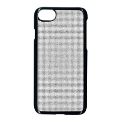 Line Black White Camuflage Polka Dots Apple Iphone 7 Seamless Case (black)