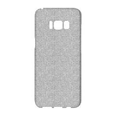 Line Black White Camuflage Polka Dots Samsung Galaxy S8 Hardshell Case