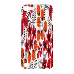 Rose Flower Red Orange Apple Ipod Touch 5 Hardshell Case