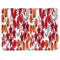 Rose Flower Red Orange Samsung Galaxy Tab 7  P1000 Flip Case