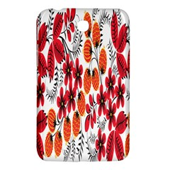 Rose Flower Red Orange Samsung Galaxy Tab 3 (7 ) P3200 Hardshell Case