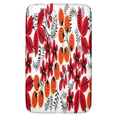 Rose Flower Red Orange Samsung Galaxy Tab 3 (8 ) T3100 Hardshell Case