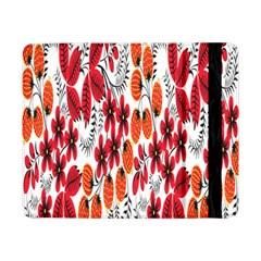 Rose Flower Red Orange Samsung Galaxy Tab Pro 8 4  Flip Case