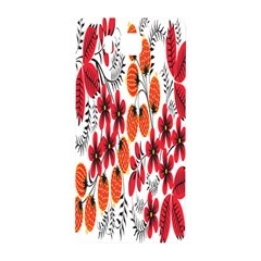 Rose Flower Red Orange Samsung Galaxy Alpha Hardshell Back Case