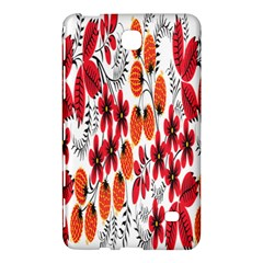 Rose Flower Red Orange Samsung Galaxy Tab 4 (7 ) Hardshell Case