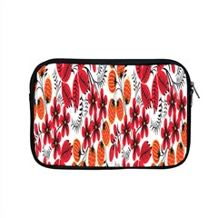 Rose Flower Red Orange Apple Macbook Pro 15  Zipper Case