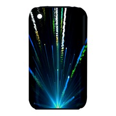 Seamless Colorful Blue Light Fireworks Sky Black Ultra Iphone 3s/3gs