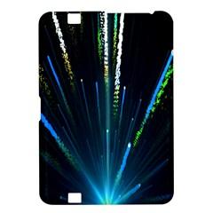 Seamless Colorful Blue Light Fireworks Sky Black Ultra Kindle Fire Hd 8 9