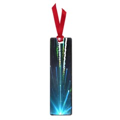 Seamless Colorful Blue Light Fireworks Sky Black Ultra Small Book Marks