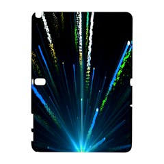 Seamless Colorful Blue Light Fireworks Sky Black Ultra Galaxy Note 1