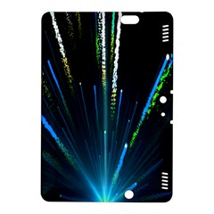 Seamless Colorful Blue Light Fireworks Sky Black Ultra Kindle Fire Hdx 8 9  Hardshell Case