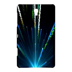 Seamless Colorful Blue Light Fireworks Sky Black Ultra Samsung Galaxy Tab S (8 4 ) Hardshell Case