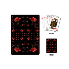 Roses From The Fantasy Garden Playing Cards (mini)