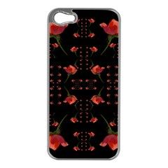 Roses From The Fantasy Garden Apple Iphone 5 Case (silver)