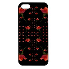 Roses From The Fantasy Garden Apple Iphone 5 Seamless Case (black)