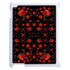 Pumkins And Roses From The Fantasy Garden Apple Ipad 2 Case (white)