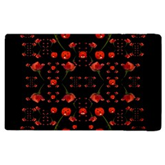 Pumkins And Roses From The Fantasy Garden Apple Ipad 2 Flip Case