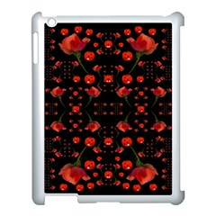 Pumkins And Roses From The Fantasy Garden Apple Ipad 3/4 Case (white)