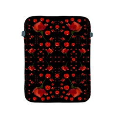 Pumkins And Roses From The Fantasy Garden Apple Ipad 2/3/4 Protective Soft Cases