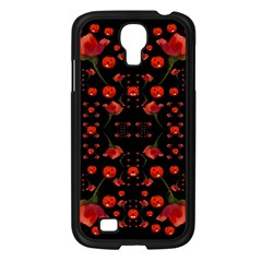 Pumkins And Roses From The Fantasy Garden Samsung Galaxy S4 I9500/ I9505 Case (black)