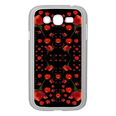 Pumkins And Roses From The Fantasy Garden Samsung Galaxy Grand Duos I9082 Case (white)