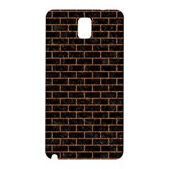 Brick1 Black Marble & Rusted Metal (r) Samsung Galaxy Note 3 N9005 Hardshell Back Case