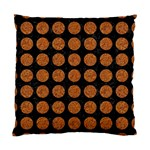 CIRCLES1 BLACK MARBLE & RUSTED METAL (R) Standard Cushion Case (Two Sides) Front