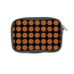 CIRCLES1 BLACK MARBLE & RUSTED METAL (R) Coin Purse Back