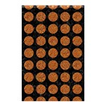 CIRCLES1 BLACK MARBLE & RUSTED METAL (R) Shower Curtain 48  x 72  (Small)  42.18 x64.8 Curtain