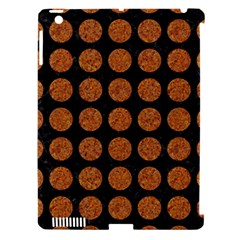 Circles1 Black Marble & Rusted Metal (r) Apple Ipad 3/4 Hardshell Case (compatible With Smart Cover)
