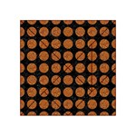 CIRCLES1 BLACK MARBLE & RUSTED METAL (R) Acrylic Tangram Puzzle (4  x 4 ) Front
