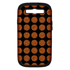 Circles1 Black Marble & Rusted Metal (r) Samsung Galaxy S Iii Hardshell Case (pc+silicone)