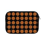 CIRCLES1 BLACK MARBLE & RUSTED METAL (R) Apple iPad Mini Zipper Cases Front