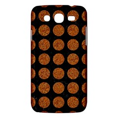 Circles1 Black Marble & Rusted Metal (r) Samsung Galaxy Mega 5 8 I9152 Hardshell Case