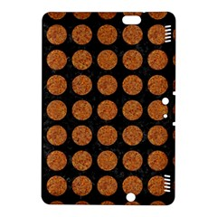 Circles1 Black Marble & Rusted Metal (r) Kindle Fire Hdx 8 9  Hardshell Case