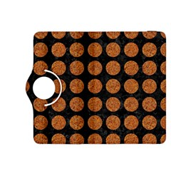 Circles1 Black Marble & Rusted Metal (r) Kindle Fire Hdx 8 9  Flip 360 Case