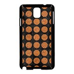 CIRCLES1 BLACK MARBLE & RUSTED METAL (R) Samsung Galaxy Note 3 Neo Hardshell Case (Black) Front