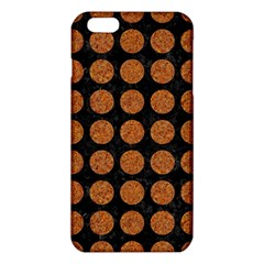 Circles1 Black Marble & Rusted Metal (r) Iphone 6 Plus/6s Plus Tpu Case