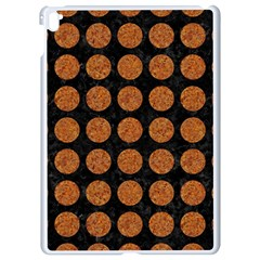 Circles1 Black Marble & Rusted Metal (r) Apple Ipad Pro 9 7   White Seamless Case