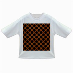 Circles2 Black Marble & Rusted Metal Infant/toddler T Shirts