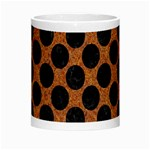 CIRCLES2 BLACK MARBLE & RUSTED METAL Morph Mugs Center