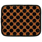 CIRCLES2 BLACK MARBLE & RUSTED METAL Netbook Case (XXL)  Front