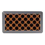 CIRCLES2 BLACK MARBLE & RUSTED METAL Memory Card Reader (Mini) Front
