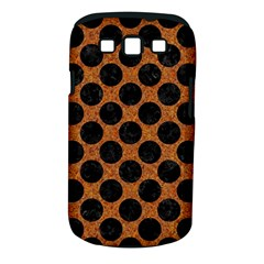 Circles2 Black Marble & Rusted Metal Samsung Galaxy S Iii Classic Hardshell Case (pc+silicone)