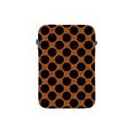 CIRCLES2 BLACK MARBLE & RUSTED METAL Apple iPad Mini Protective Soft Cases Front
