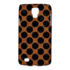 Circles2 Black Marble & Rusted Metal Galaxy S4 Active