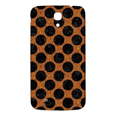 Circles2 Black Marble & Rusted Metal Samsung Galaxy Mega I9200 Hardshell Back Case