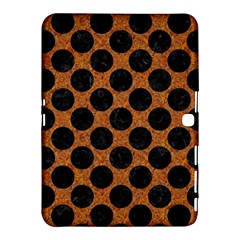 Circles2 Black Marble & Rusted Metal Samsung Galaxy Tab 4 (10 1 ) Hardshell Case