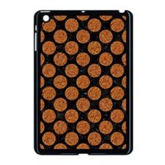 Circles2 Black Marble & Rusted Metal (r) Apple Ipad Mini Case (black)
