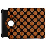 CIRCLES2 BLACK MARBLE & RUSTED METAL (R) Kindle Fire HD 7  Front